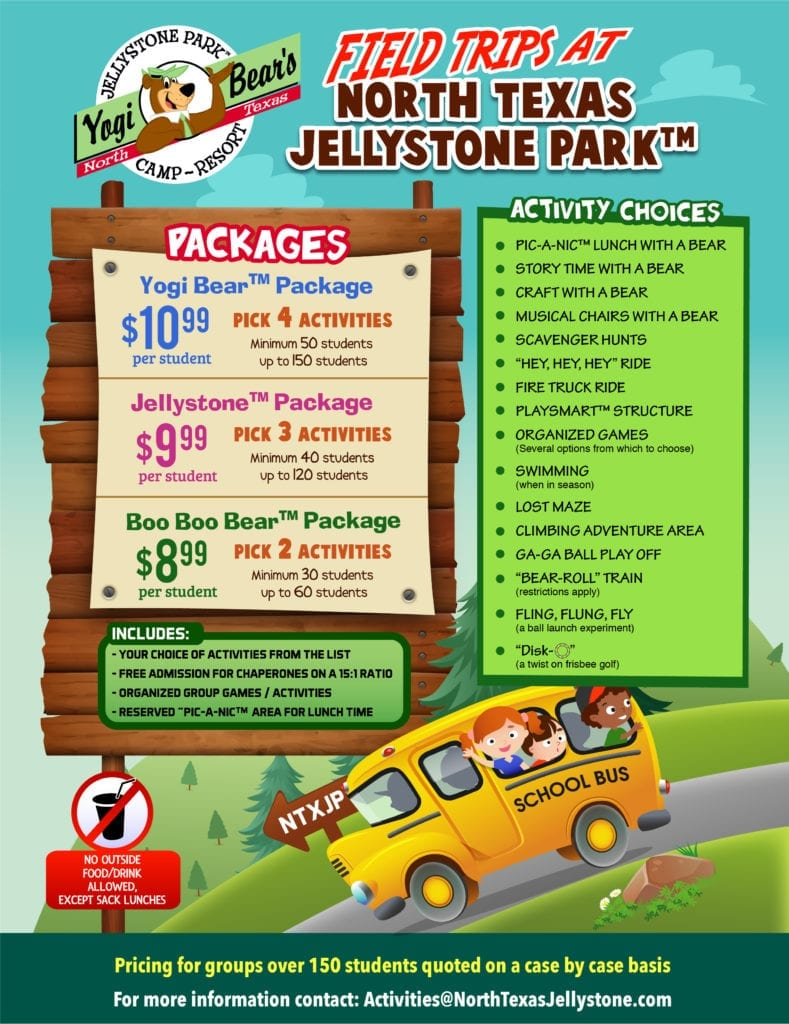 Field Trip Packages